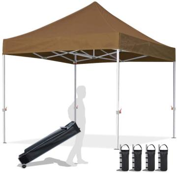 Mais resistente pop up 10x10 gazebo 3 temporada