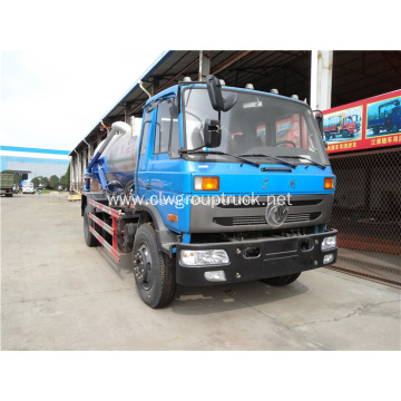 4x2 6 wheels sewage suction truck for sale