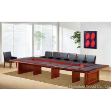 Mesa de reunião de madeira de escritório de alto nível (HF-MH7022)