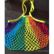 Bolsa de algodón orgánico reutilizable ecológica