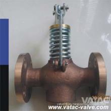 JIS F7398 Bronce / latón Marine Auto-Cierre de la válvula de desagüe Fabricante
