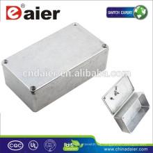 Pedal de aluminio 1590N1 / 125B stomp Hammond Box