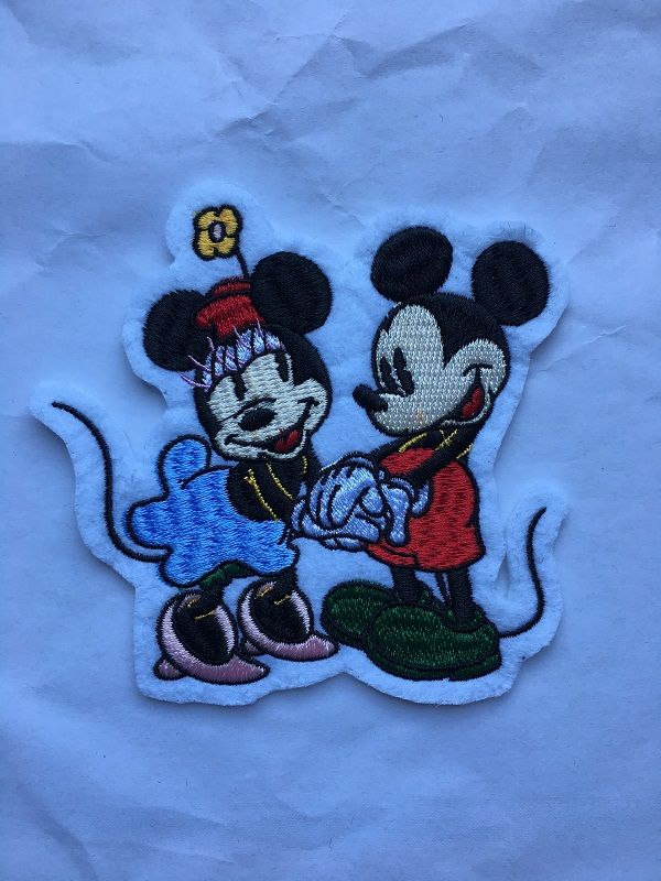 Mini Mouse Enbroidery