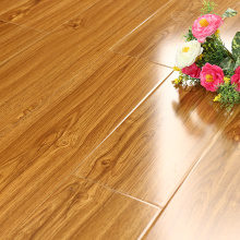 11mm waterproof high glossy wood flooring