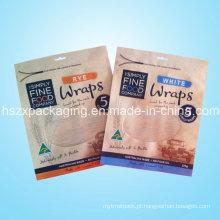 Saco de plástico de alta qualidade do PE / PVC / HDPE / LDPE com zíper