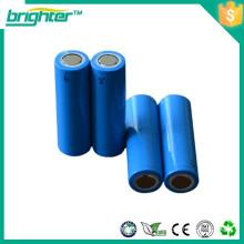 Bateria de íon de lítio célula 14500 2600mah 3.7v bateria recarregável