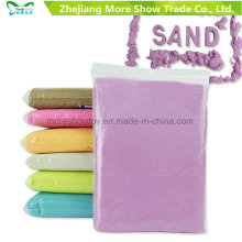 Vente en gros Bulk Magic Sand pour enfants Creative Playing Dynamic Sand Moving Sand