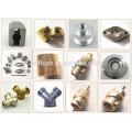 custom design cold brass steel aluminum hot forging parts