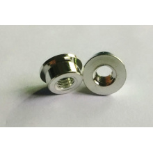 Tnrning Parts of Cap Screw Insert Barrel/Flange Nuts by Copper