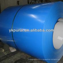 Matériaux de construction bobines en tôle d'acier colorées