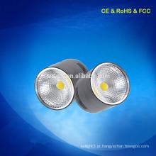 5w Round fixture Superfície montada LED COB down light