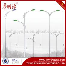 new style used street steel lighting pole price, lam pole, lamp post
