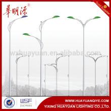 Novo estilo usado em aço de rua preço do poste de iluminação, poste de lam, poste da lâmpada