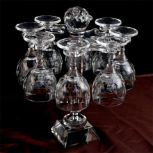 a Set of Crystal Wine Glass