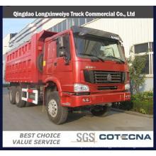 Sinotruk HOWO 6X4 25t 290HP Tipper Truck