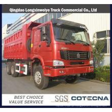 Caminhão de Tipper Sinotruk HOWO 6X4 25t 290HP