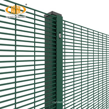 ISO & CE anti climb welded wire mesh security fence,358 no climb fence
