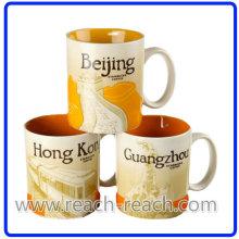 OEM Ceramic Mug, Coffee City Mug (R-3064)