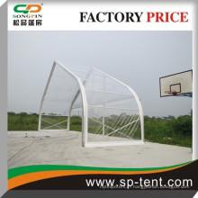 Tente de toit courbe transparente avec structure en aluminium pour événement extérieur 25x30m