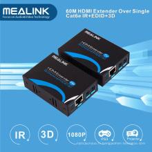 Extendeur HDMI 60m sur un seul Cat5e / 6, HDMI V1.3