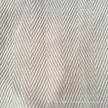 Tissu Bambou / Chanvre en Herringbone Pattern (QF13-0013)