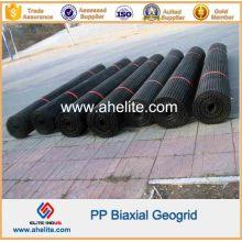 Geogrelha Biaxial Polipropileno PP para Estabilização de Dique