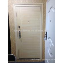 Европа стиль стали безопасности дверь входную дверь DL-508 дизайн новый цвет