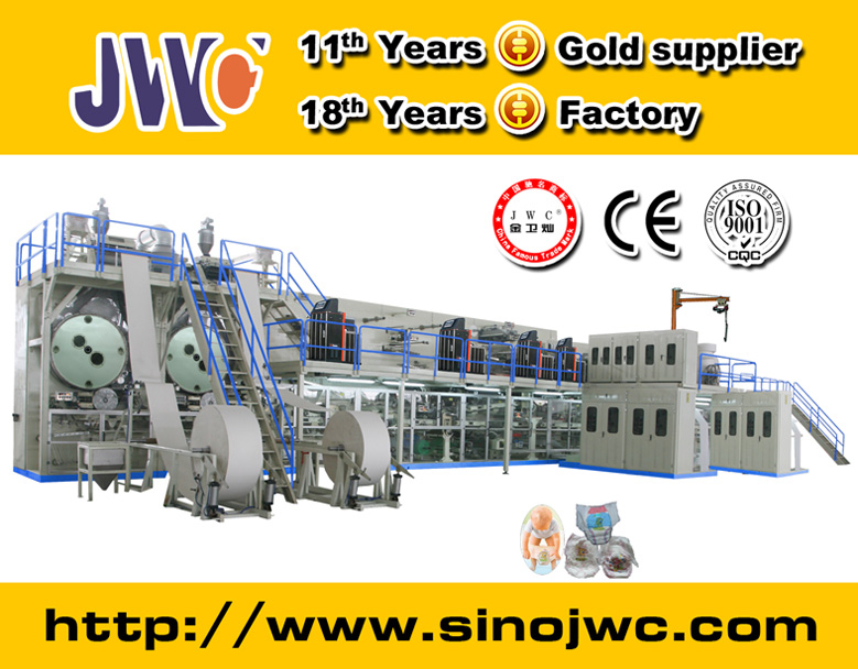 Semi Automatic Pull Up Diaper Production Line