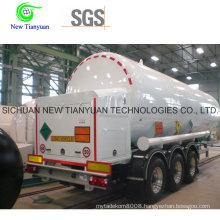 24m3 Capacity Asme Standard Liquid Tank Semi Trailer