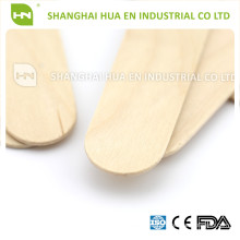 Non Sterile wooden disposable tougue depressor for medical use