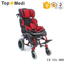 Topmedi Cerebralparese Kinder Aluminium Manueller Rollstuhl