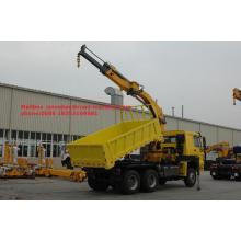 12 Tons Sinotruk Truck Mounted Telescopic Boom Crane