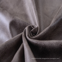 100% Polyester Bronzing Suede Fabric in Synthetic Leather