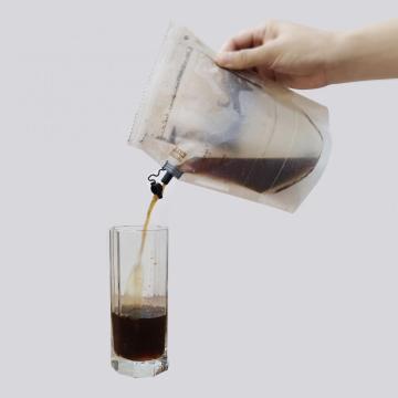 Saco de café com impressão personalizada e pano de filtro