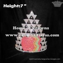 Wholesale Apple Shaped Rhinestone Crowns