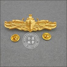 Gold Plated Organizational Pins, Military Badge (GZHY-BADGE-001)