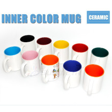 sublimation mugs wholesale, sublimation blanks cups and mugs inside color