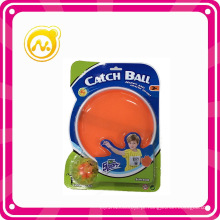 Bola de captura de plástico com gancho e loop jogo de bola de brinquedo