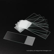 Corrediça de microscópio de vidro de laboratório 7105