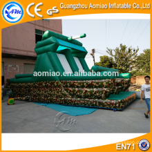 Kids Jumping Giant Inflatable Slides Commercial Bouncer Castle Slide à vendre