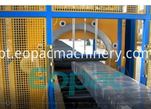 Horizontal Stretch Film Wrapping Machine