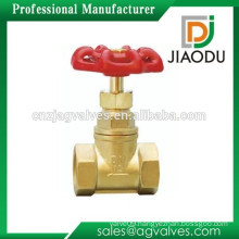 Chinese manufactuer OEM precision cnc yellow metal handle copper brass stop cock valve with brass color 15 28mm