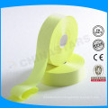 yellow high visibility reflective safety band