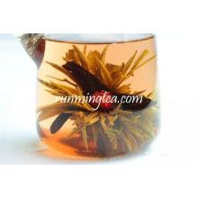 100% Happy Rising Green Blooming Flowering Tea