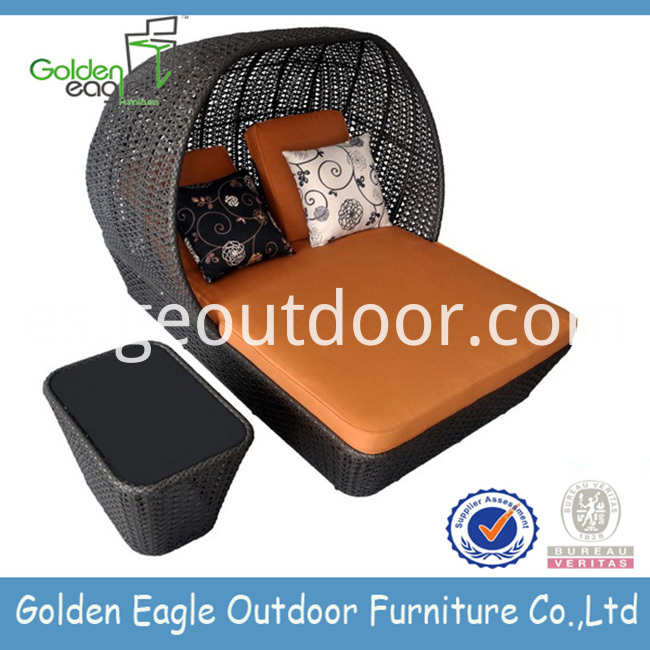 Aluminium Outdoor Double Beach Chair