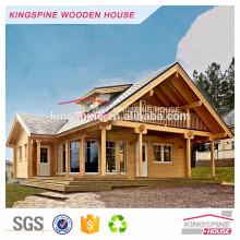 Prix d'usine maison en bois préfabriquée pour la vie