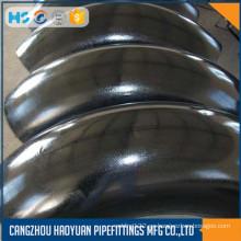 Codo largo de acero al carbono Astm A106