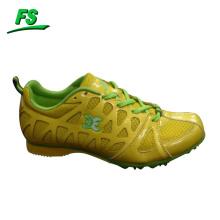 nouvelles chaussures de course de piste coloré lumineux de conception