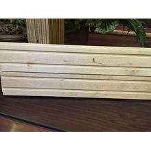 Revestimento de madeira dos esportes inacabados internos resistentes do bordo