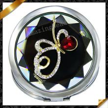 Fashion Jewelry Glass Silver Mirror, Cat′s Eye Glass Mirror (MW011)